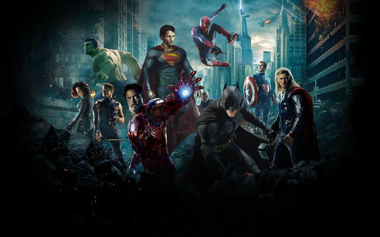 Super Hero Wallpapers 1280x800