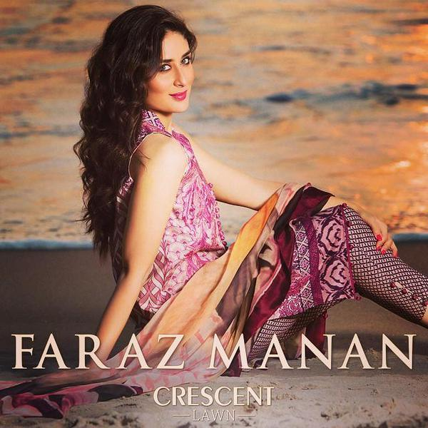 Kareena Kapoor Photoshoot for the March 2015 Month for Faraz Manans 600x600