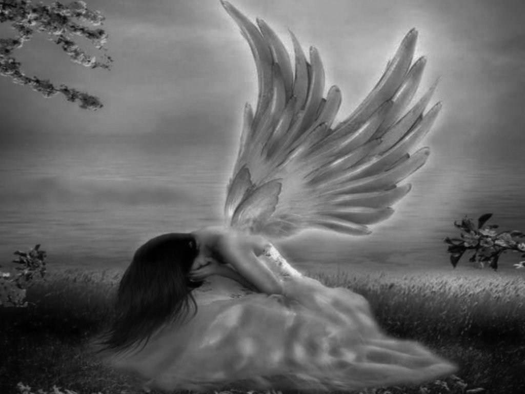 crying angel wallpaper gothic - photo #5