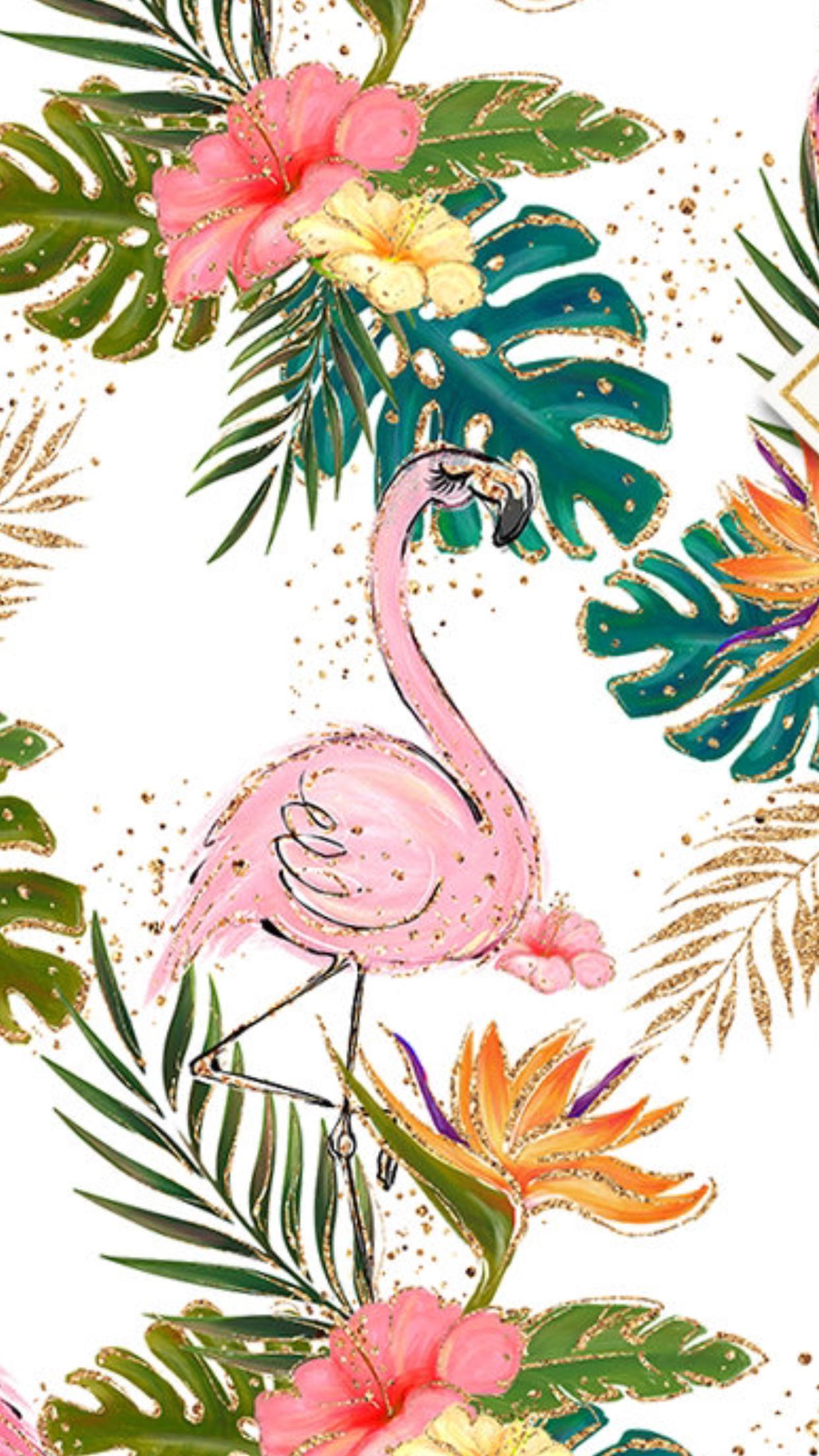 Pin by Fetes de Fleurs Bachelorette on Wallpapers Flamingo 1242x2208