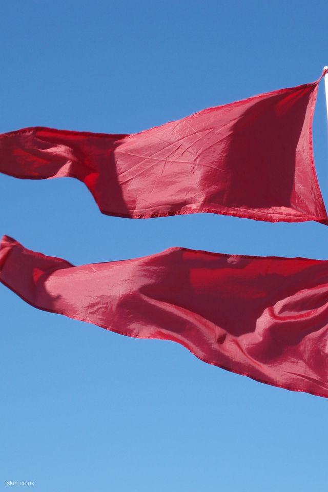 Red Flag Day Desktop Wallpaper iskincouk 640x960