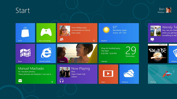 Official Windows 8 Consumer Preview Wallpapers For Windows 7 Users 590x332