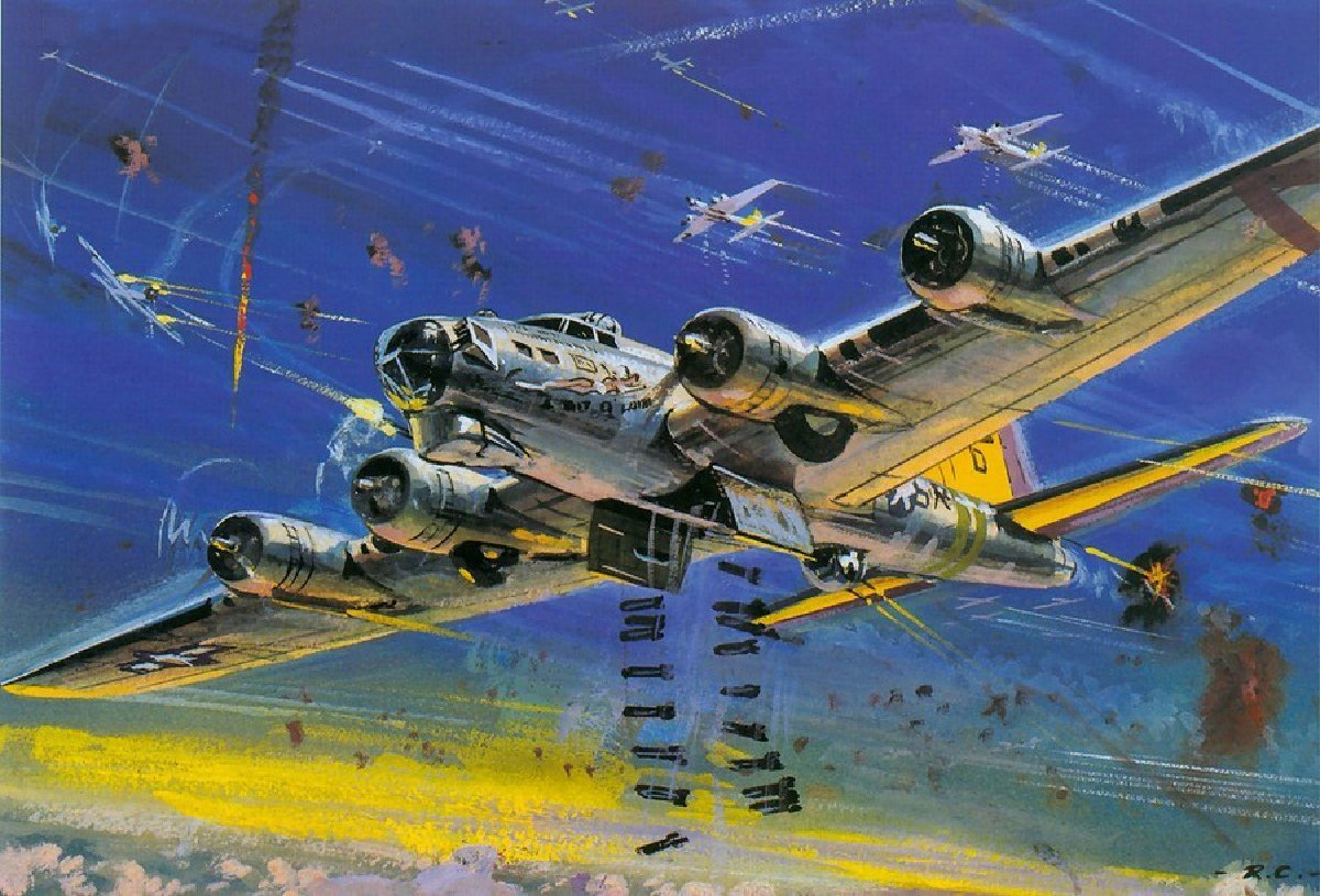 B 17 Flying Fortress wallpaper  1415217
