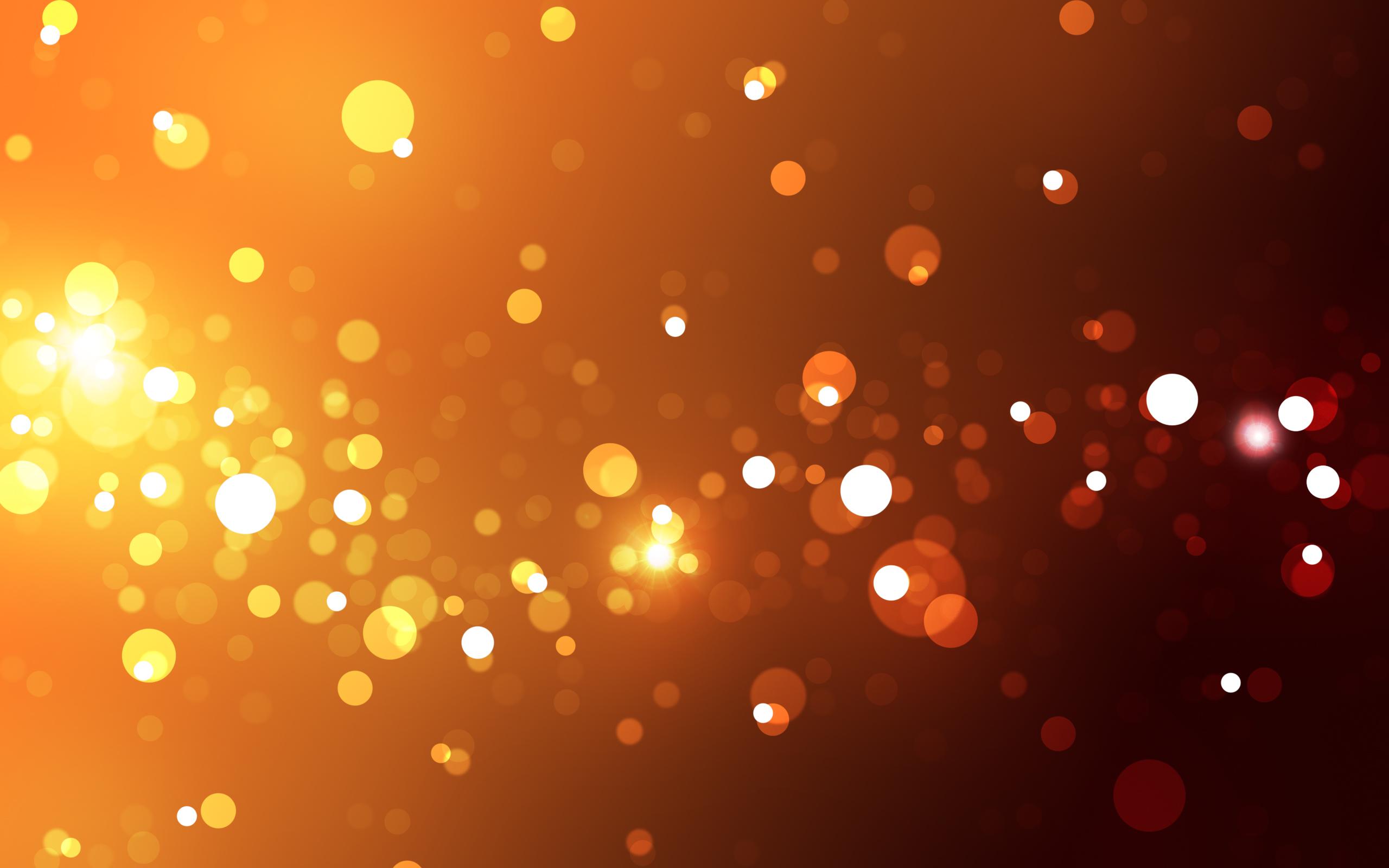 Abstract Lights Wallpaper 2560x1600 Abstract Lights Orange 2560x1600