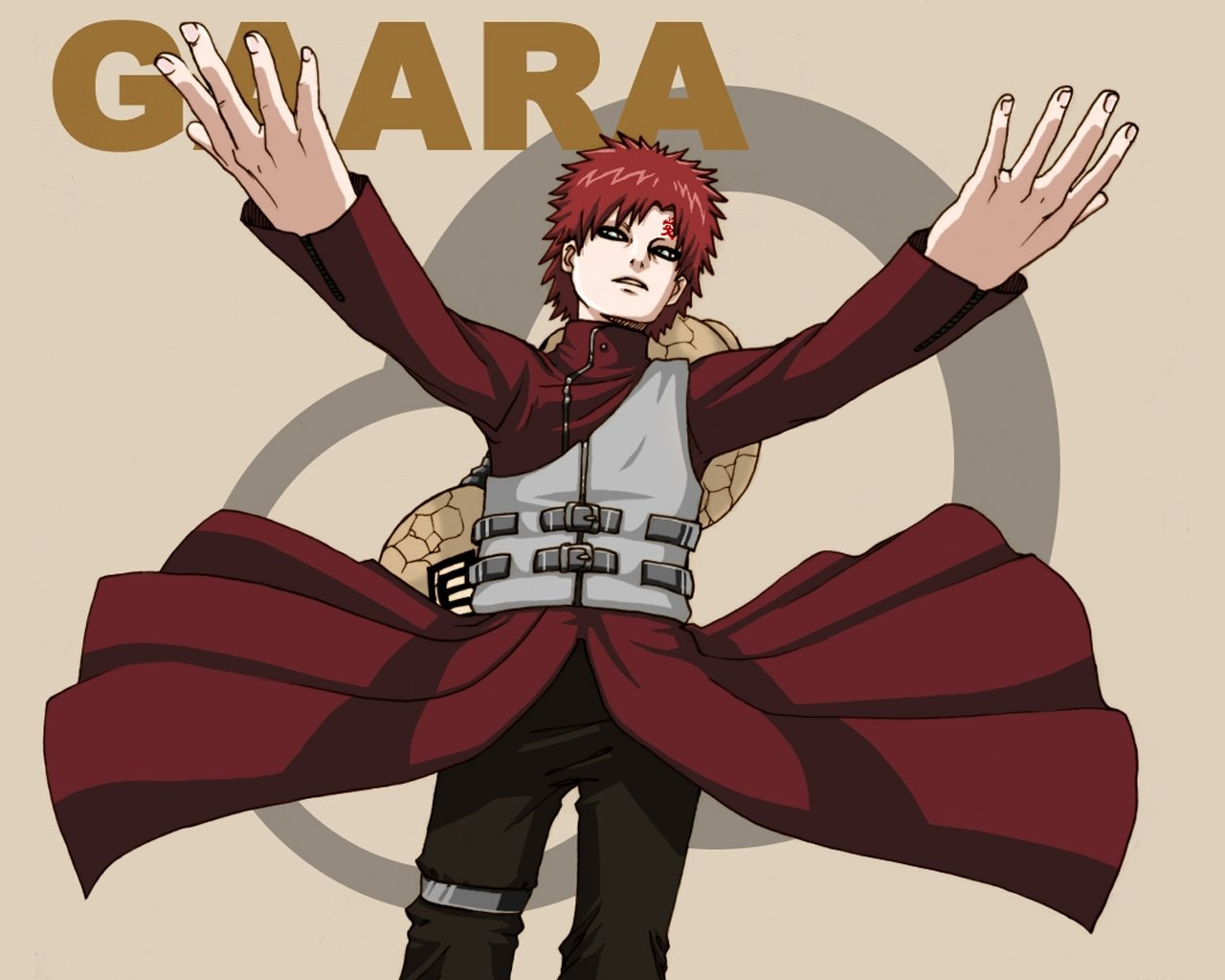 Wallpapers de Gaara y Naruto 1280x1024