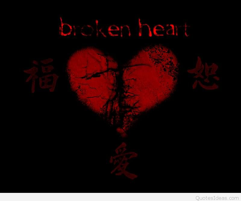 Broken heart sad quotes with pictures and wallpapers hd 800x667