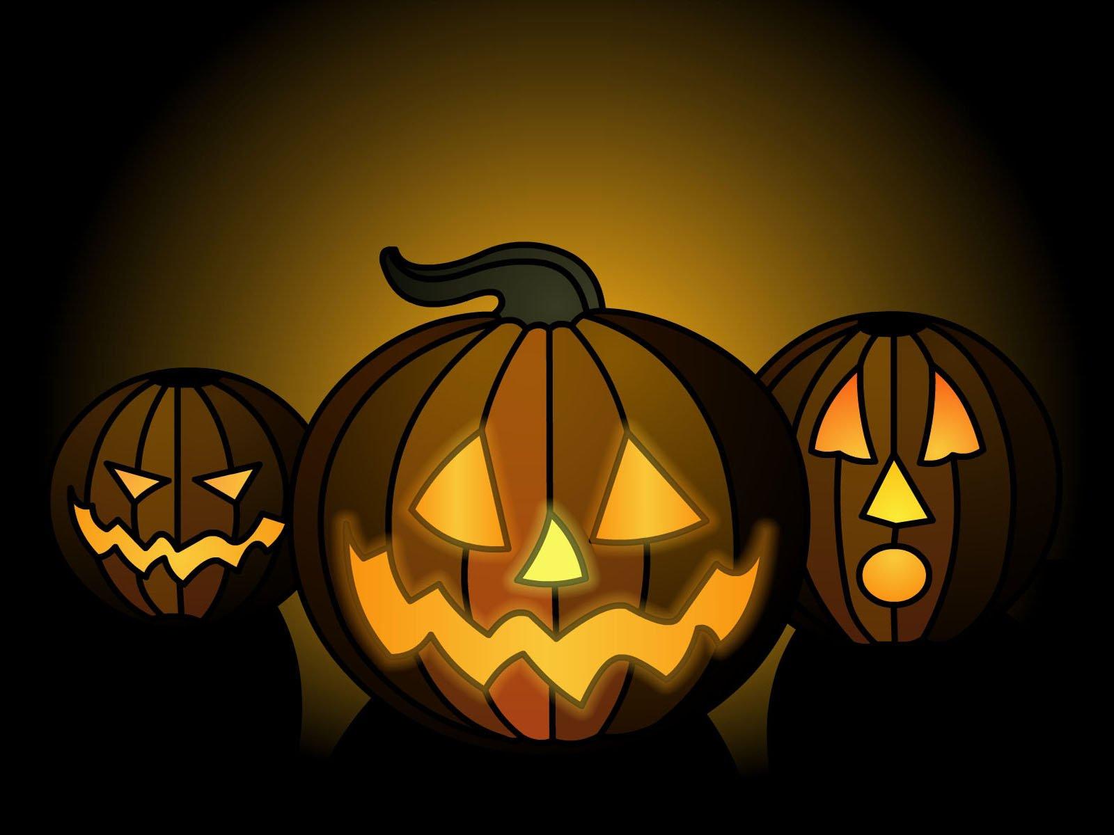 Halloween pumpkins Desktop Wallpapers FREE on Latorocom 1600x1200