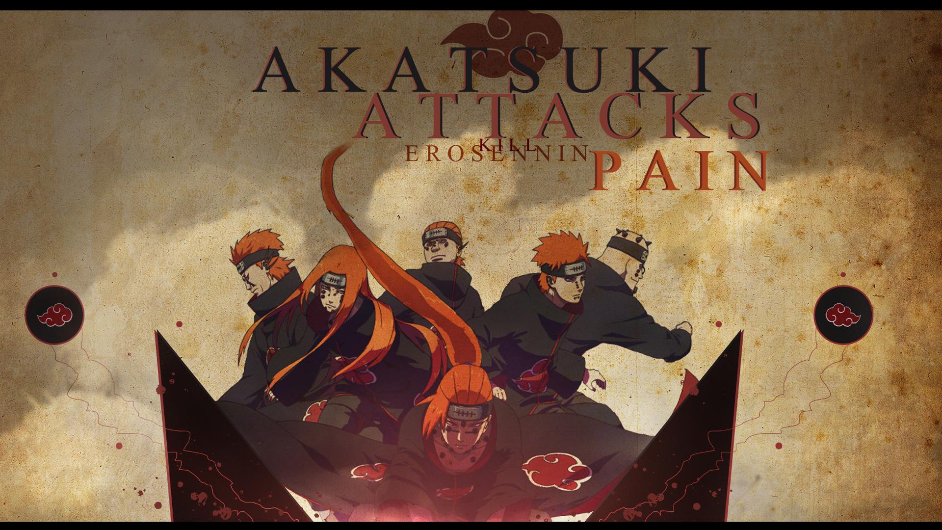 Pain   Akatsuki Wallpaper 18868236 1920x1080
