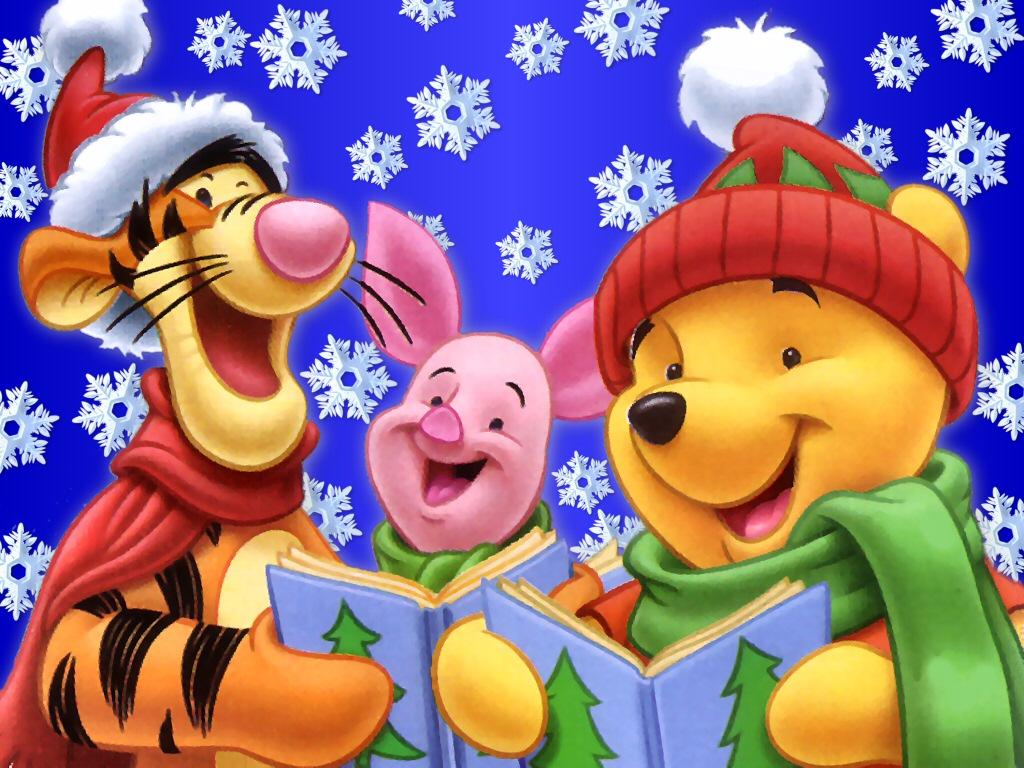 Disney Christmas WallpaperTHR999HKRG 17 1024x768