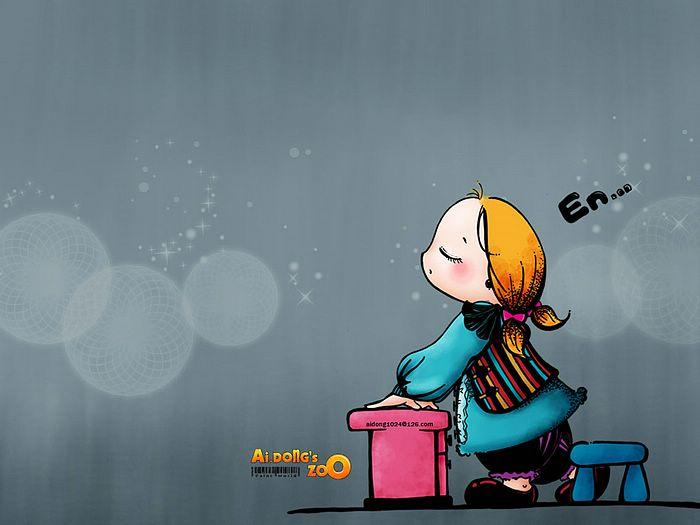 Cute Cartoon Character Wallpaper - WallpaperSafari   700 x 525 jpeg 36kB