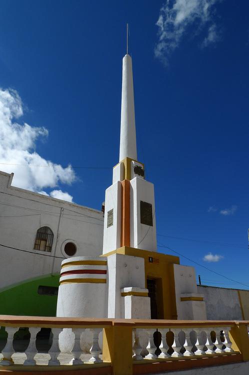 Monument Oruro Bolivia by John MeckleyStriking Deco monument again 498x750