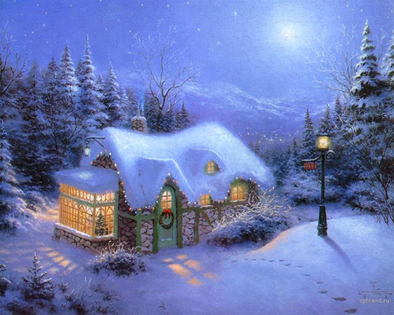 Frozen Christmas Mac 1280x1024