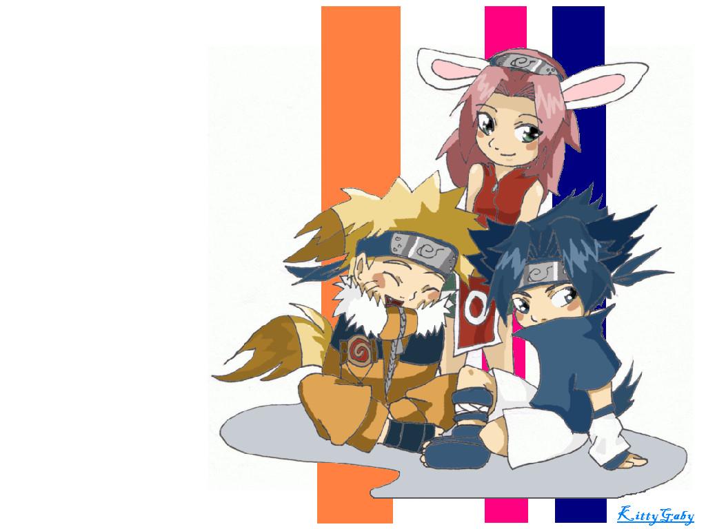 Chibi Naruto Wallpaper 1024x768