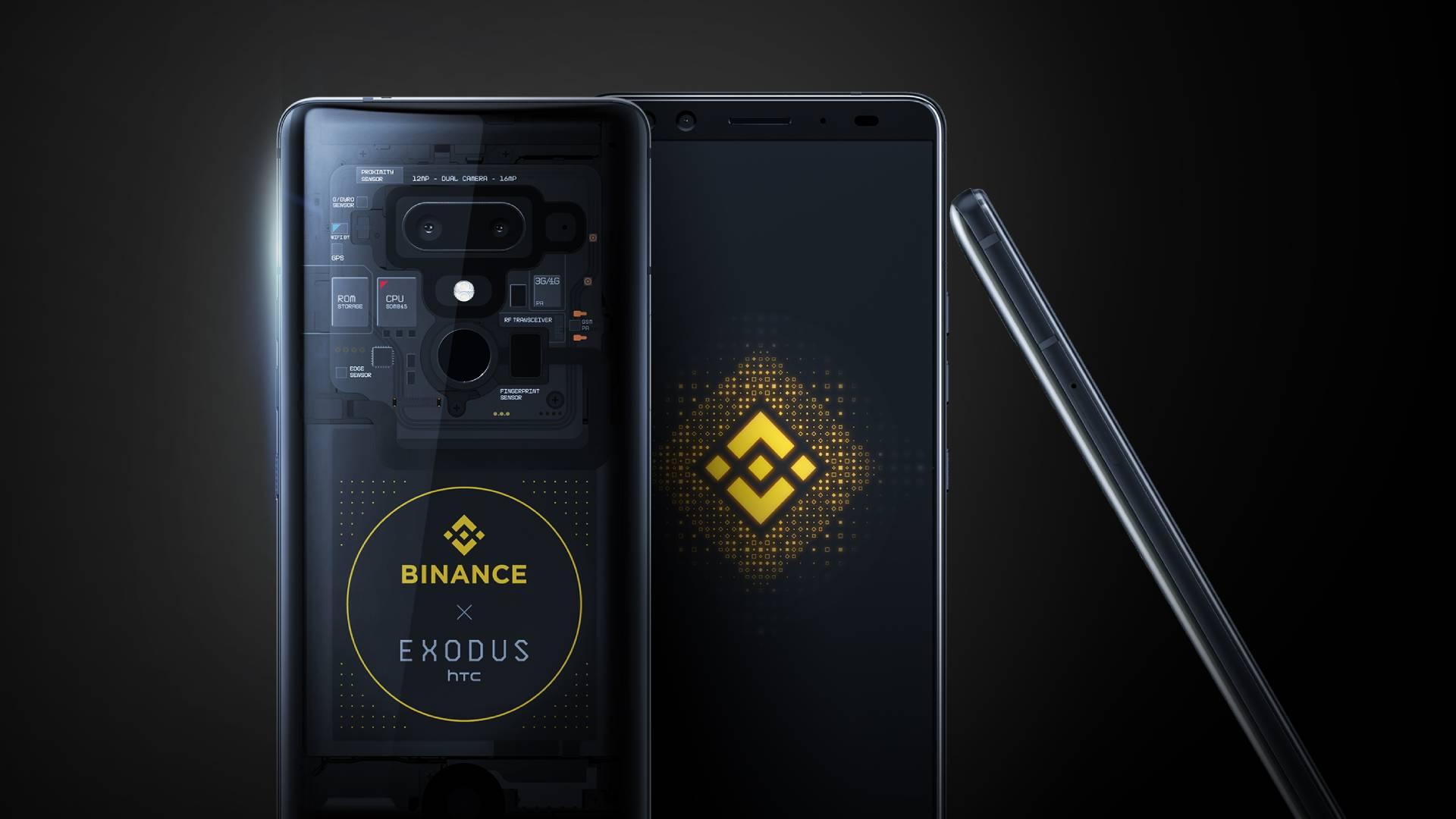 HTC Exodus 1 cryptophone gets Binance Edition upgrade   Decrypt 1920x1080