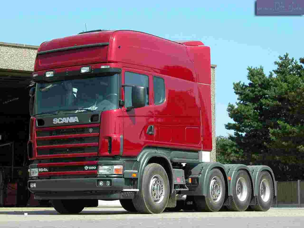 Scania R164L 01 Wallpaper