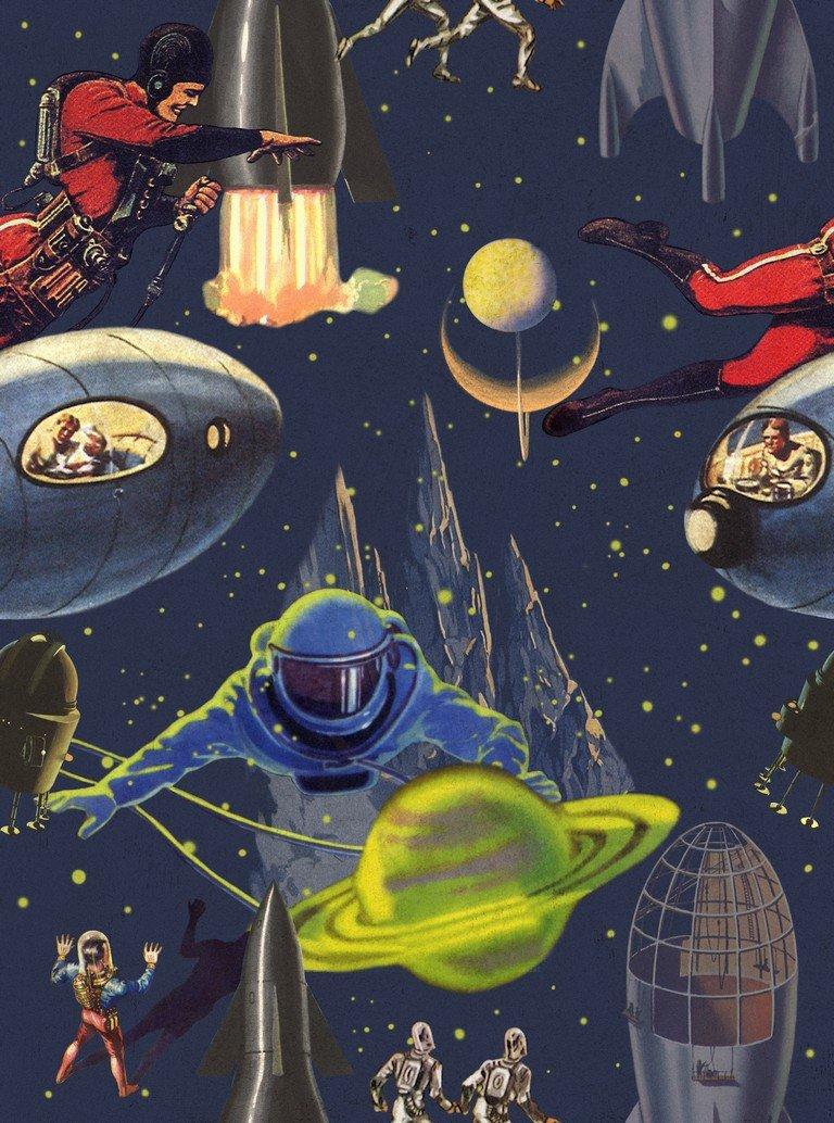Intergalactic Space Wallpaper April The Bear 768x1034