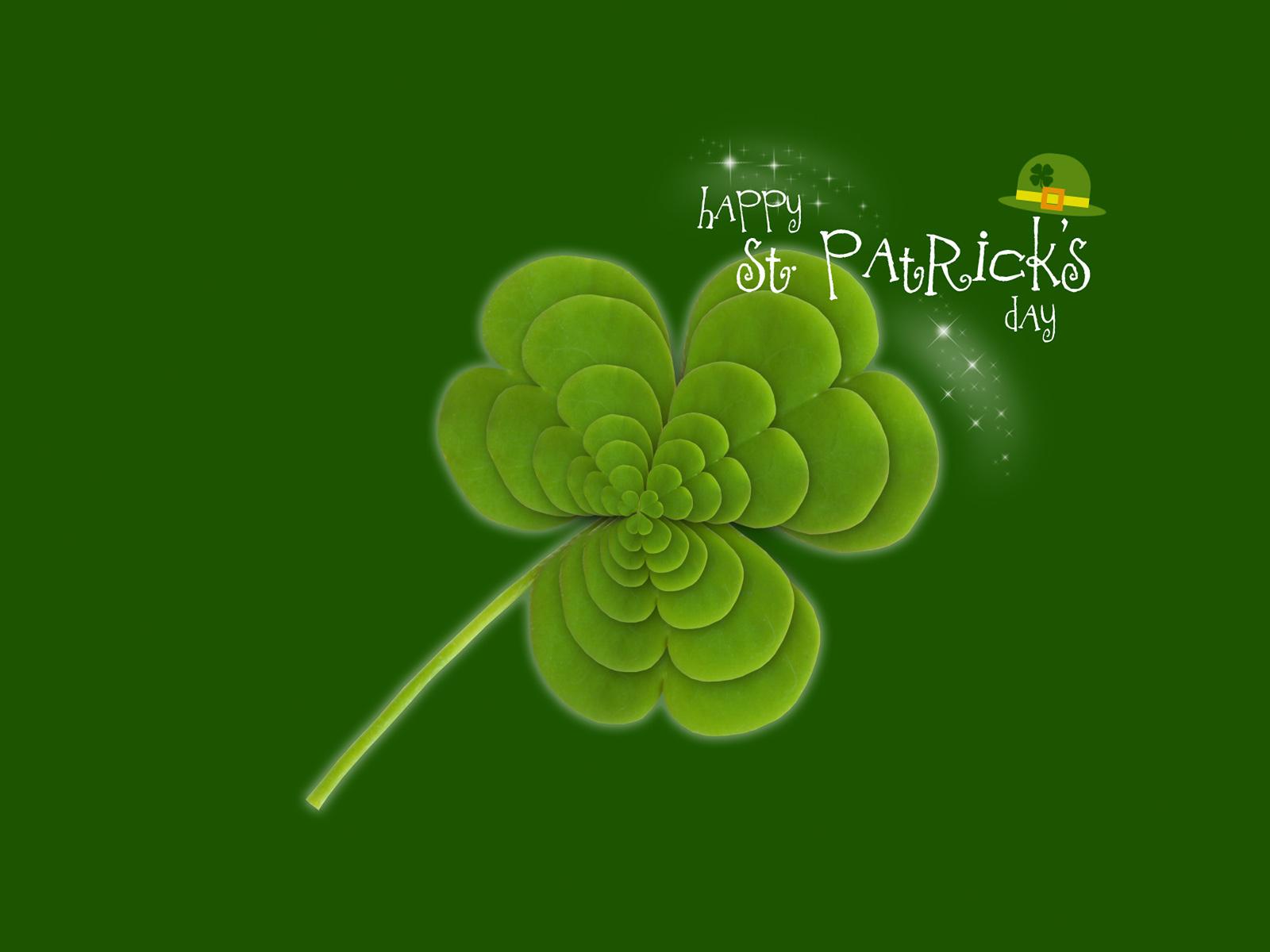 Holidays St Patrick s Day Happy Saint Patrick  015349 jpg 1600x1200
