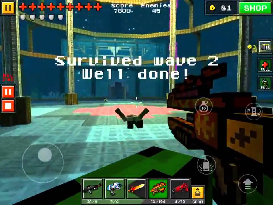 Pixel Gun 3D NEW SURVIVAL MAP [3] This map was amazingly made The 960x720