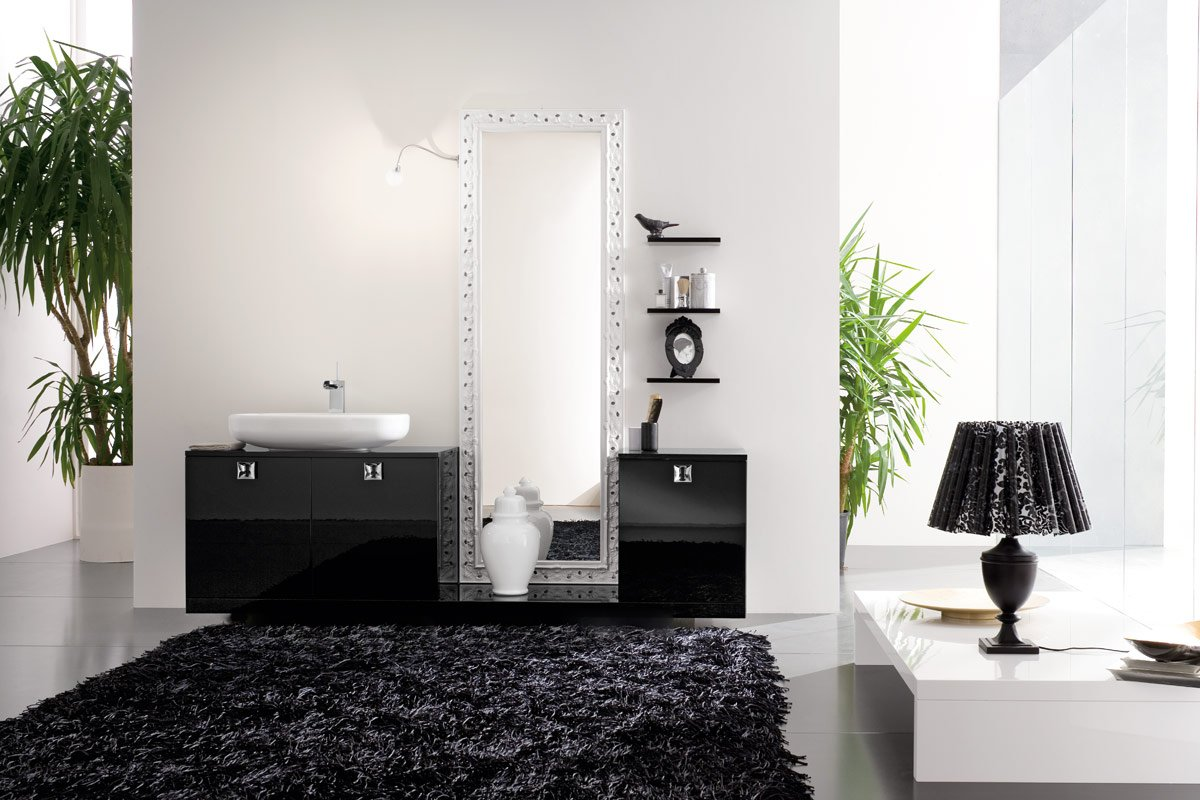Black Wallpaper Border Bathroom   Decobizzcom 1200x800