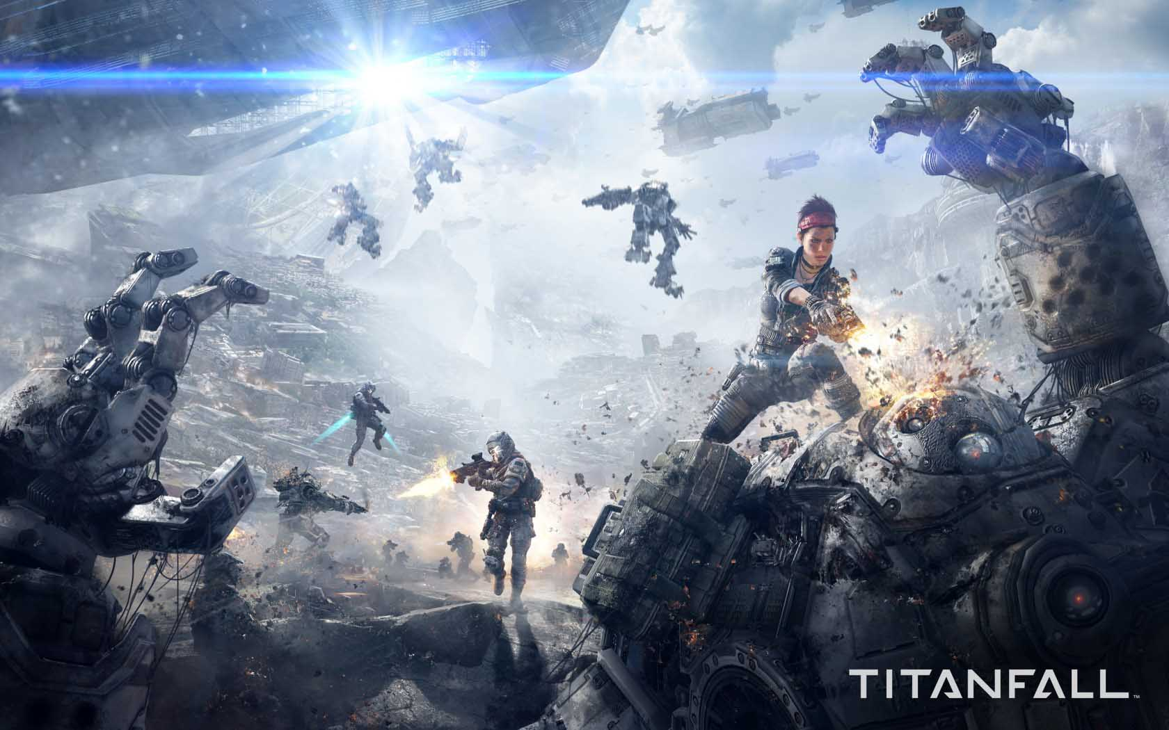best Titanfall Game HD Wallpaper With Resolutions 16801050 Pixel 1680x1050