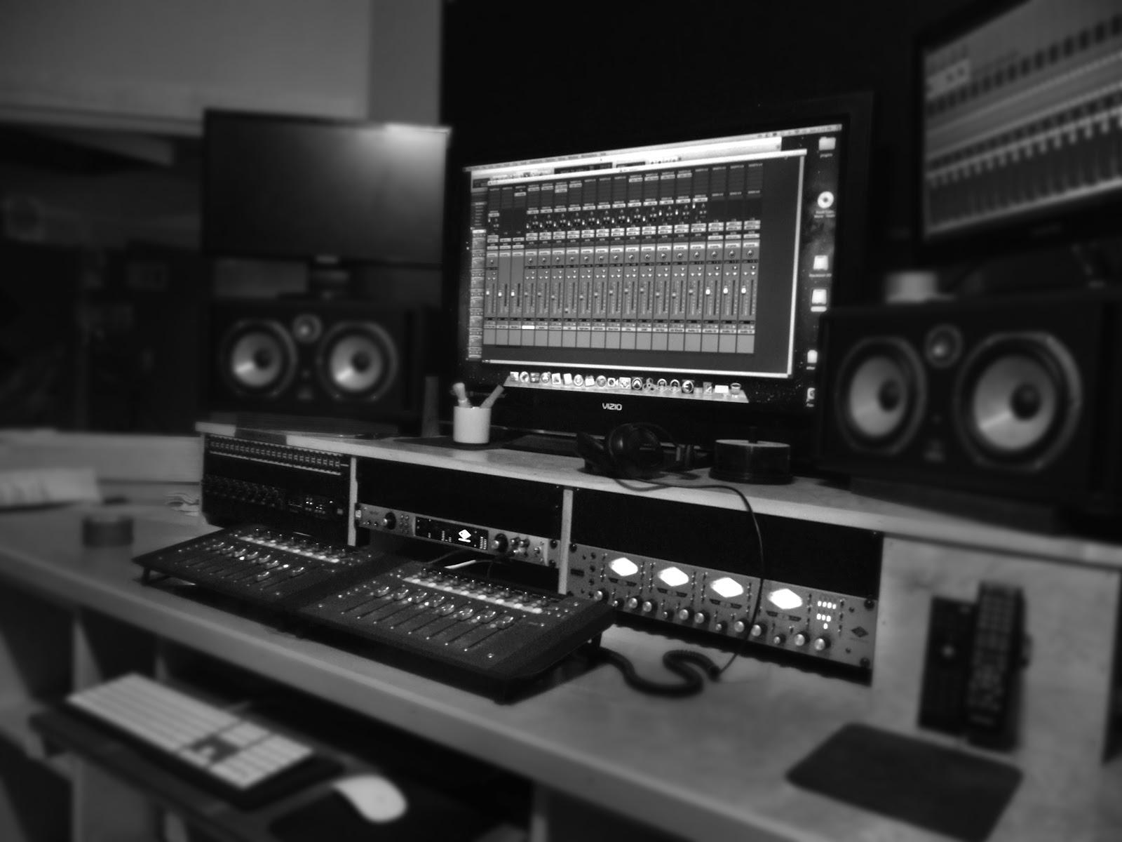 Recording Studio Wallpaper Sine wave recording studio 1600x1200