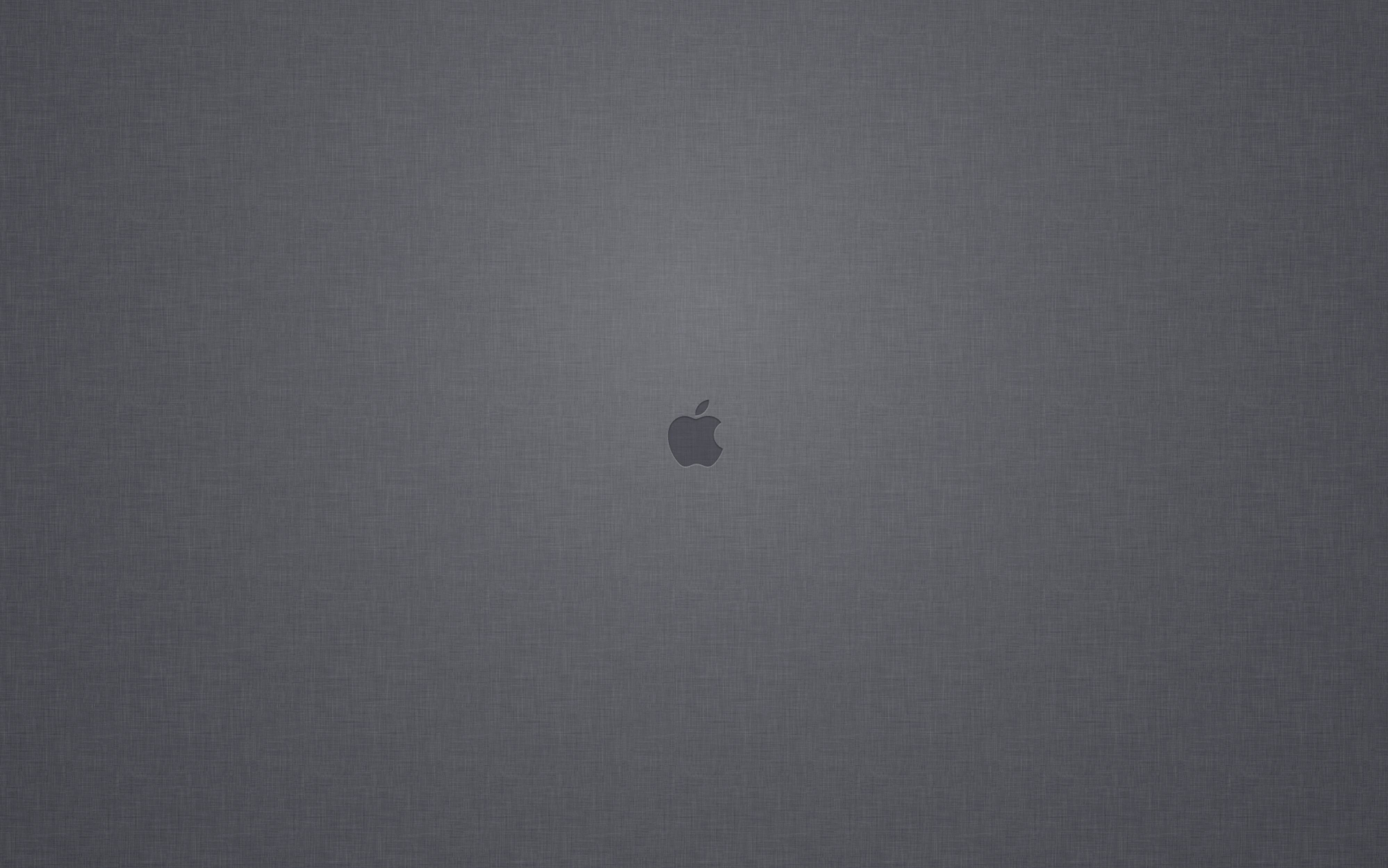 osxdailycomLinen Apple Logo Wallpaper from the Mac OS X Lion Login 3995x2500