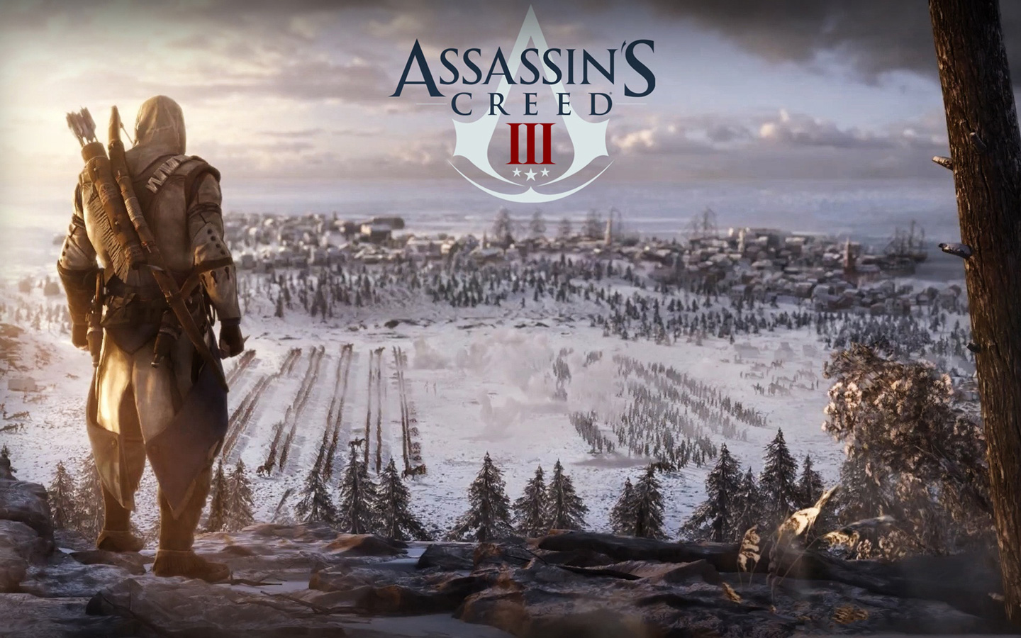 Assassins Creed III HD Wallpapers Review Kinect and Xbox 360 Games 1440x900