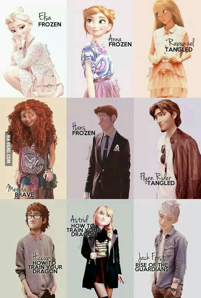 Modern Disney Characters Modern disney characters Disney 647x960