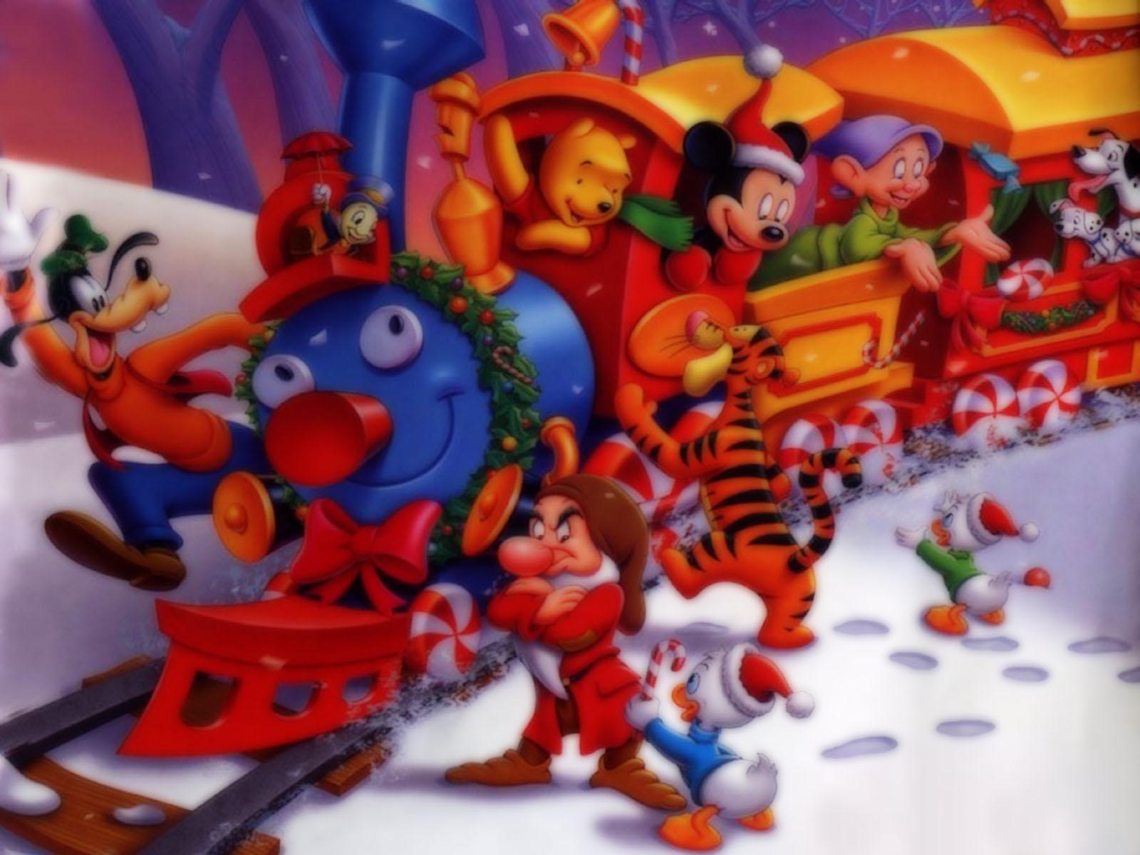 Disney christmas wallpapers Christmas wallpapers screensavers 1600x1200