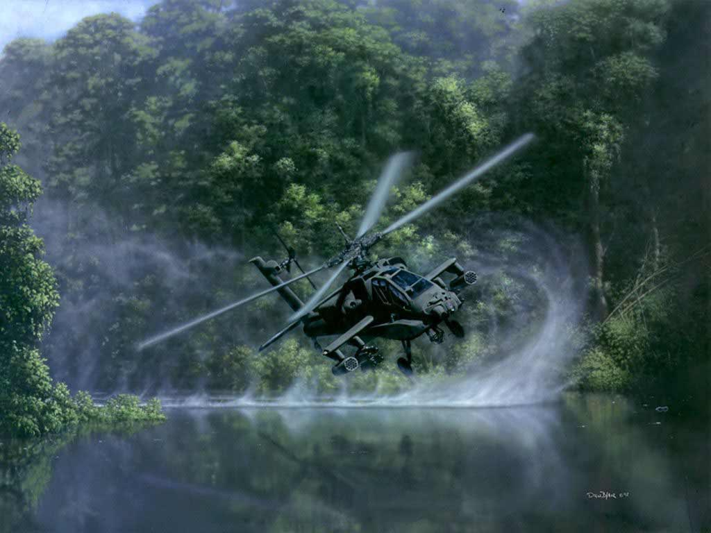 Wallpapers HD Helicopter 1024x768
