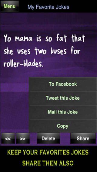 Yo Mama Jokes FREE   Best Funny Yomama on the App Store on iTunes 320x568