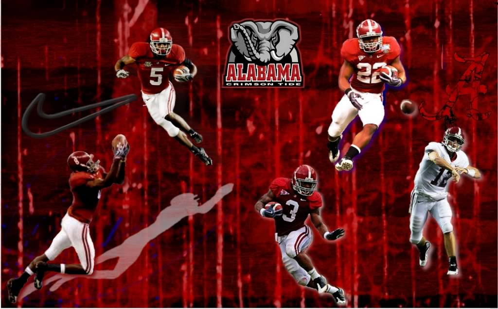 Alabama Crimson Tide Logo Wallpapers 1024x637