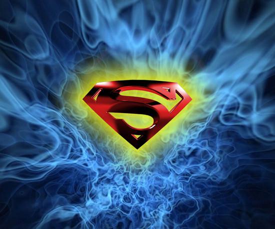 Cool Superman Logo Wallpaper Superman logo 550x458