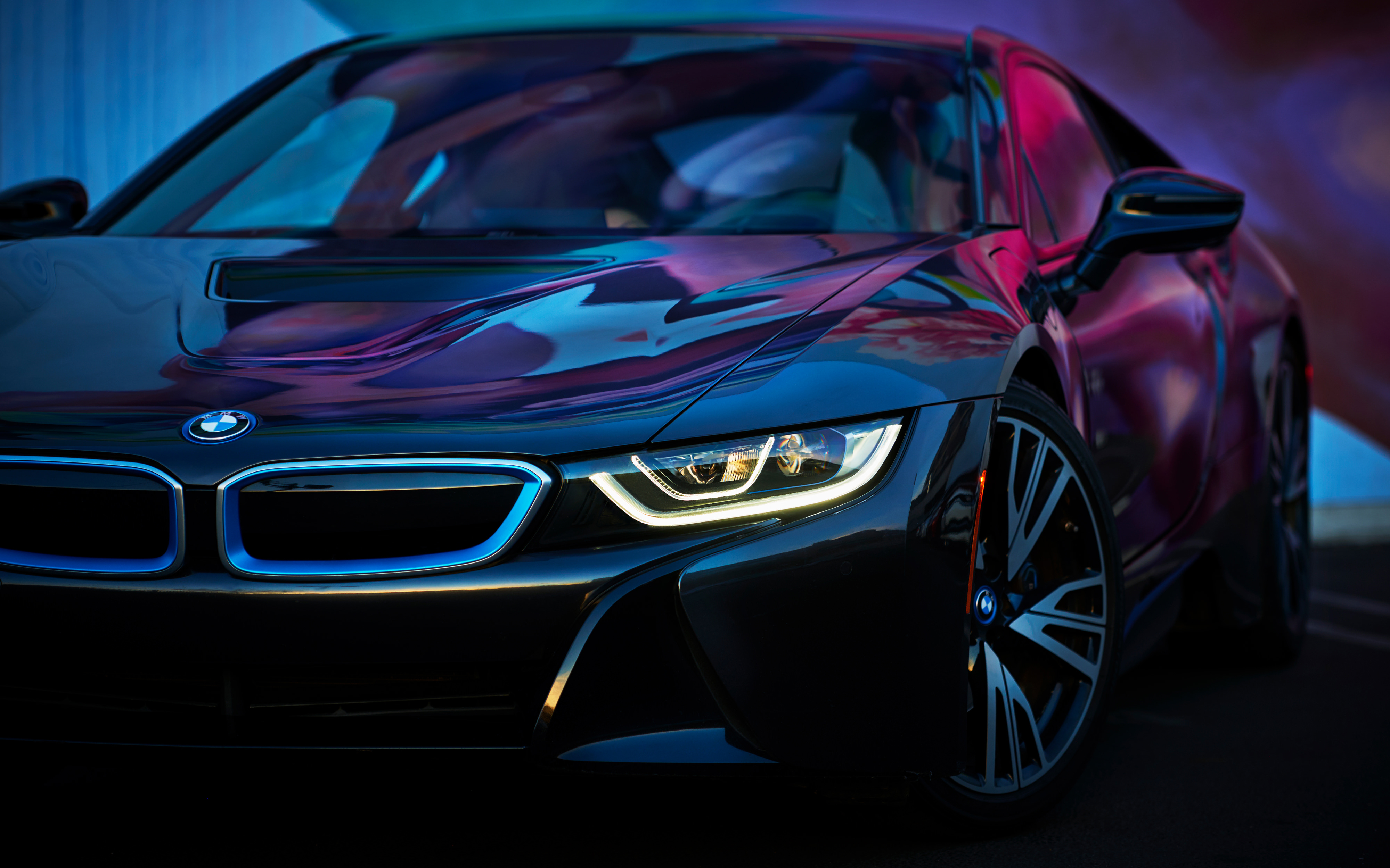 BMW i8 2018 4K Wallpapers HD Wallpapers 4000x2500