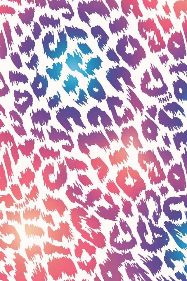 colorful animal print BackgroundsWallpapers Pinterest Animal 640x960