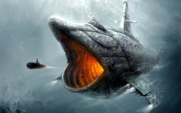 Nautilus Submarine Drawing Updated 2012 11 08 views 923 600x375