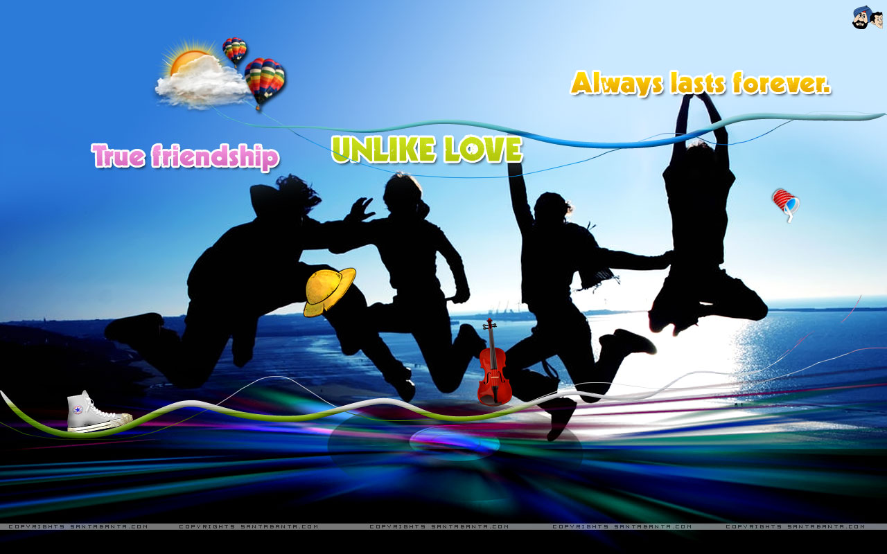 hd wide new wallpapers Friendship day 2015 Best Facebook Wallpapers 1280x800