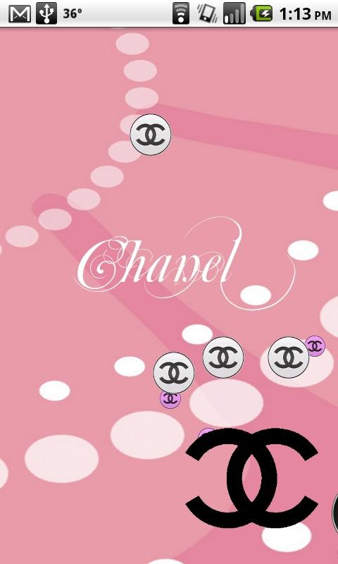Chanel Pink Live Wallpaper 480x800