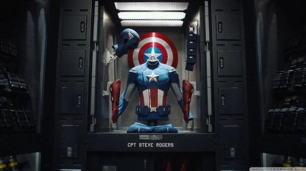 The Avengers Cpt Steve Rogers widescreen wallpaper Wide 600x337