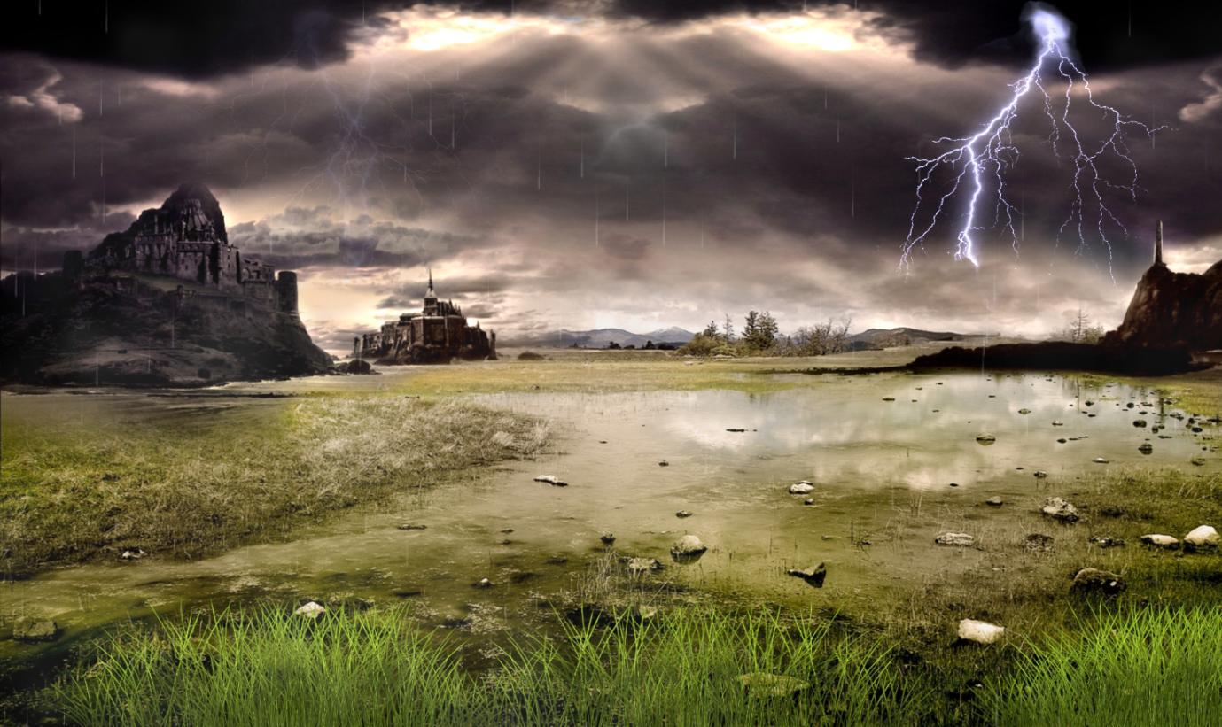 Thunderstorm Field Animated Wallpaper full Windows 7 screenshot ...
