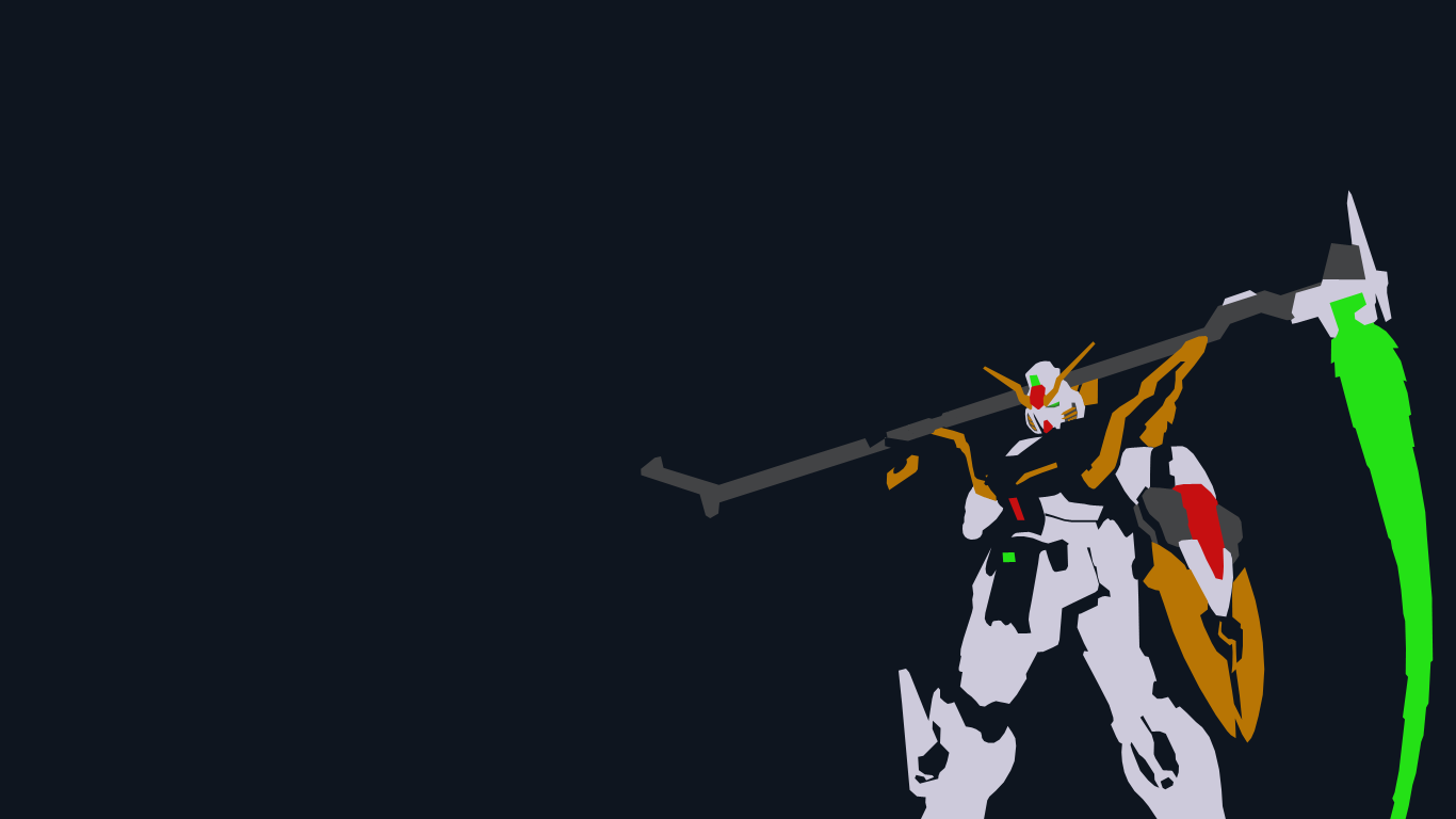 Gundam Deathscythe Wallpapers 1080p at Movies Monodomo 1366x768