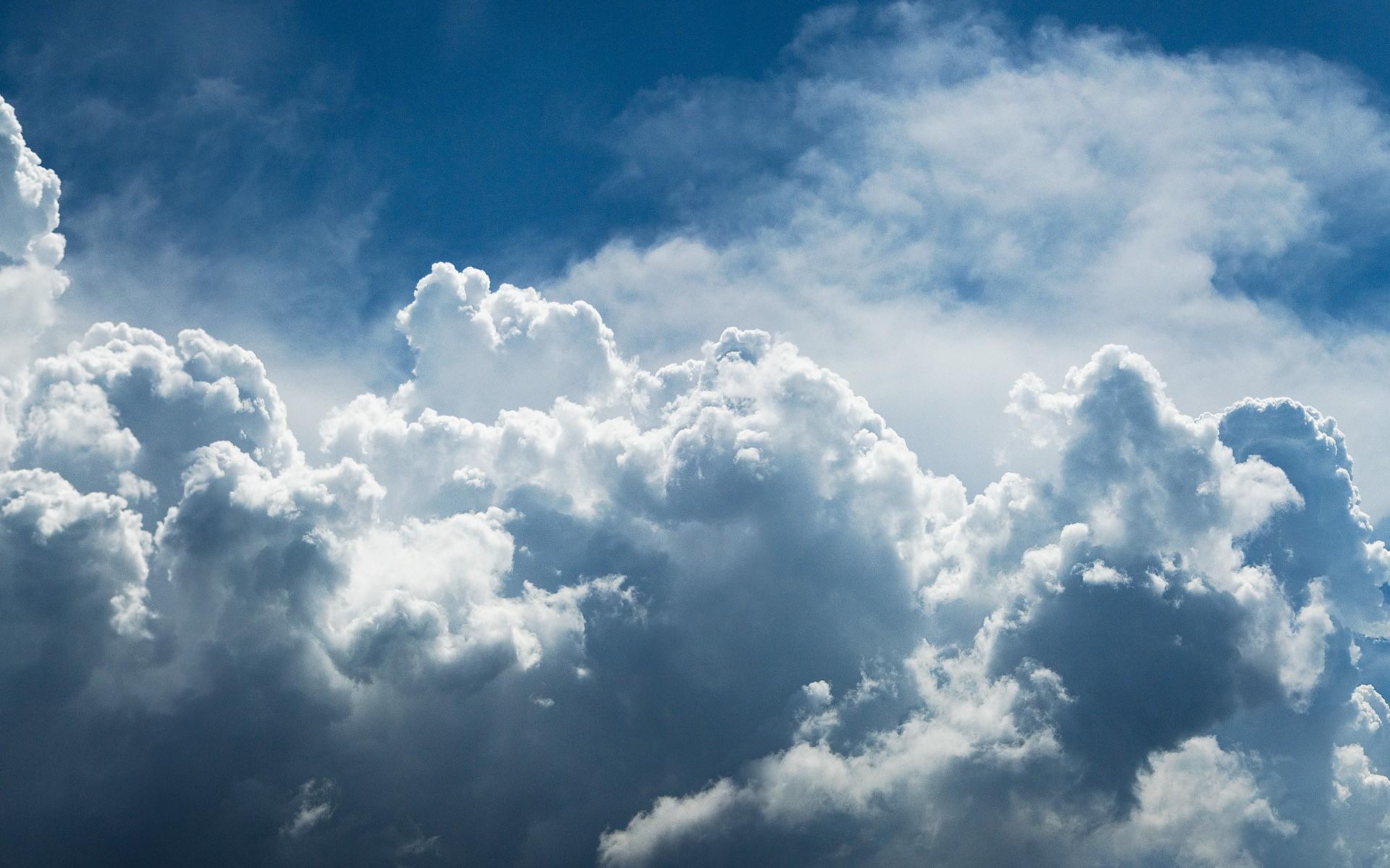 1920x1200 blue clouds desktop pc and mac wallpaper