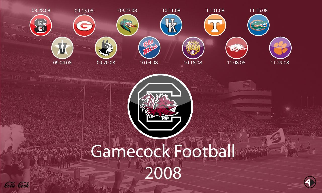2008 Gamecock Football Wallpaper   CockyTalk 1280x768