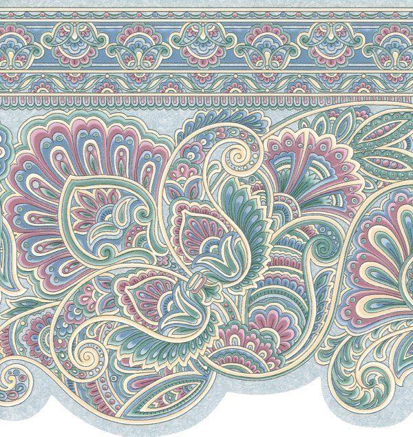 600x635px Victorian Wallpaper Borders Wallpapersafari