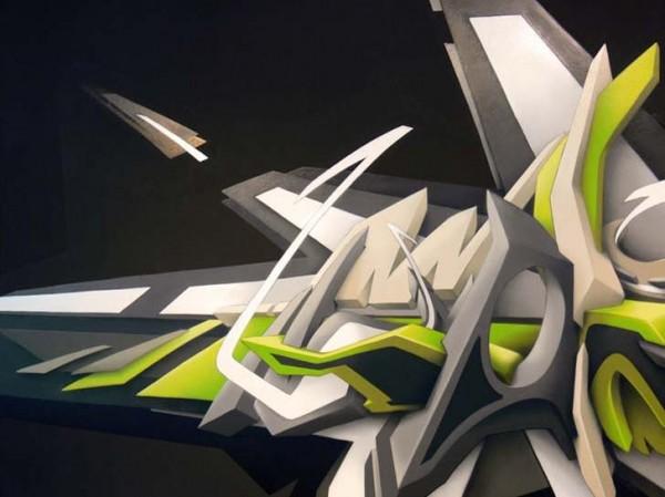 by Daim Amazing graffiti art Graffiti you can use to wallpaper 600x449