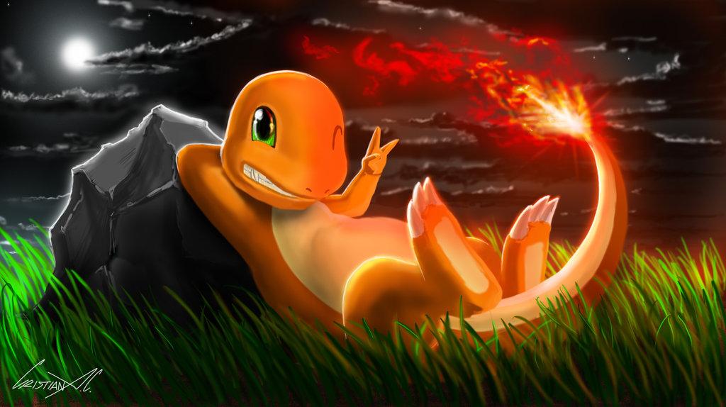 Charmander   Pokemon by CristianAC 1024x574
