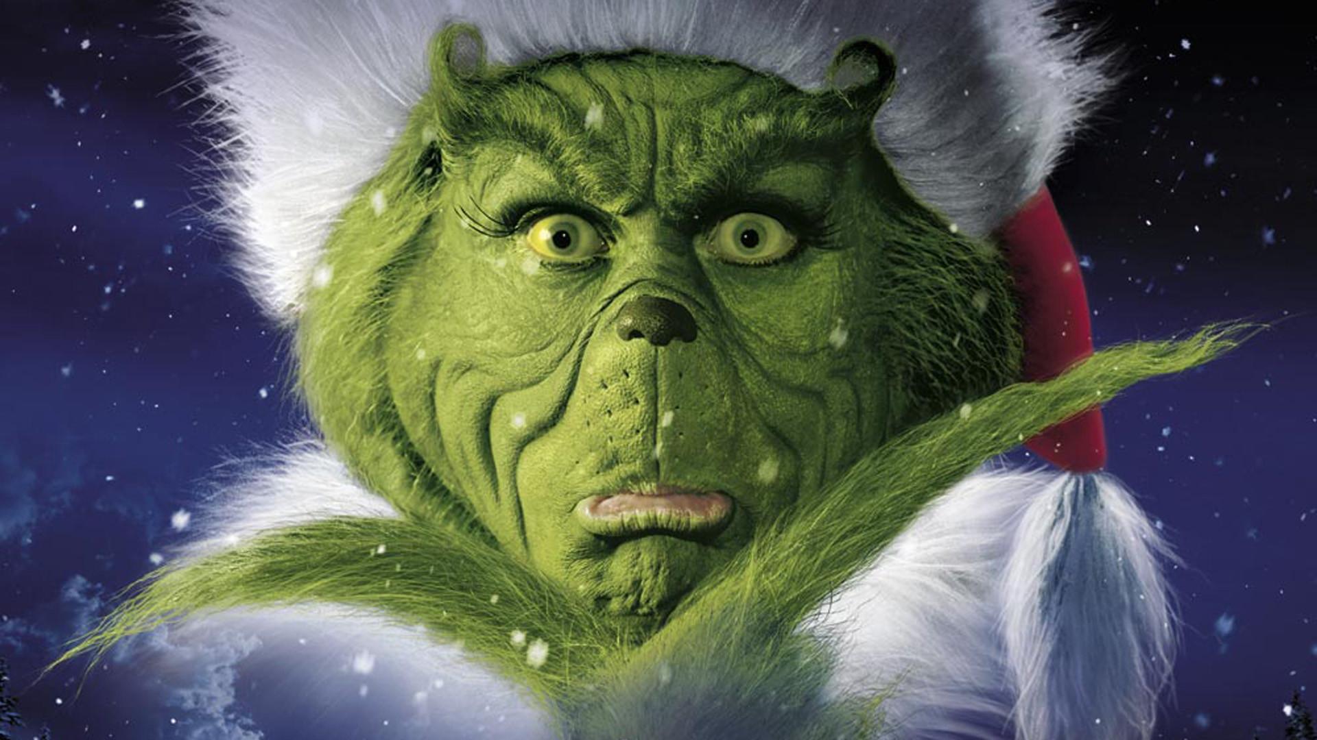 416kB The Grinch Portrait Christmas Wallpaper   Christmas Cartoon 1920x1080