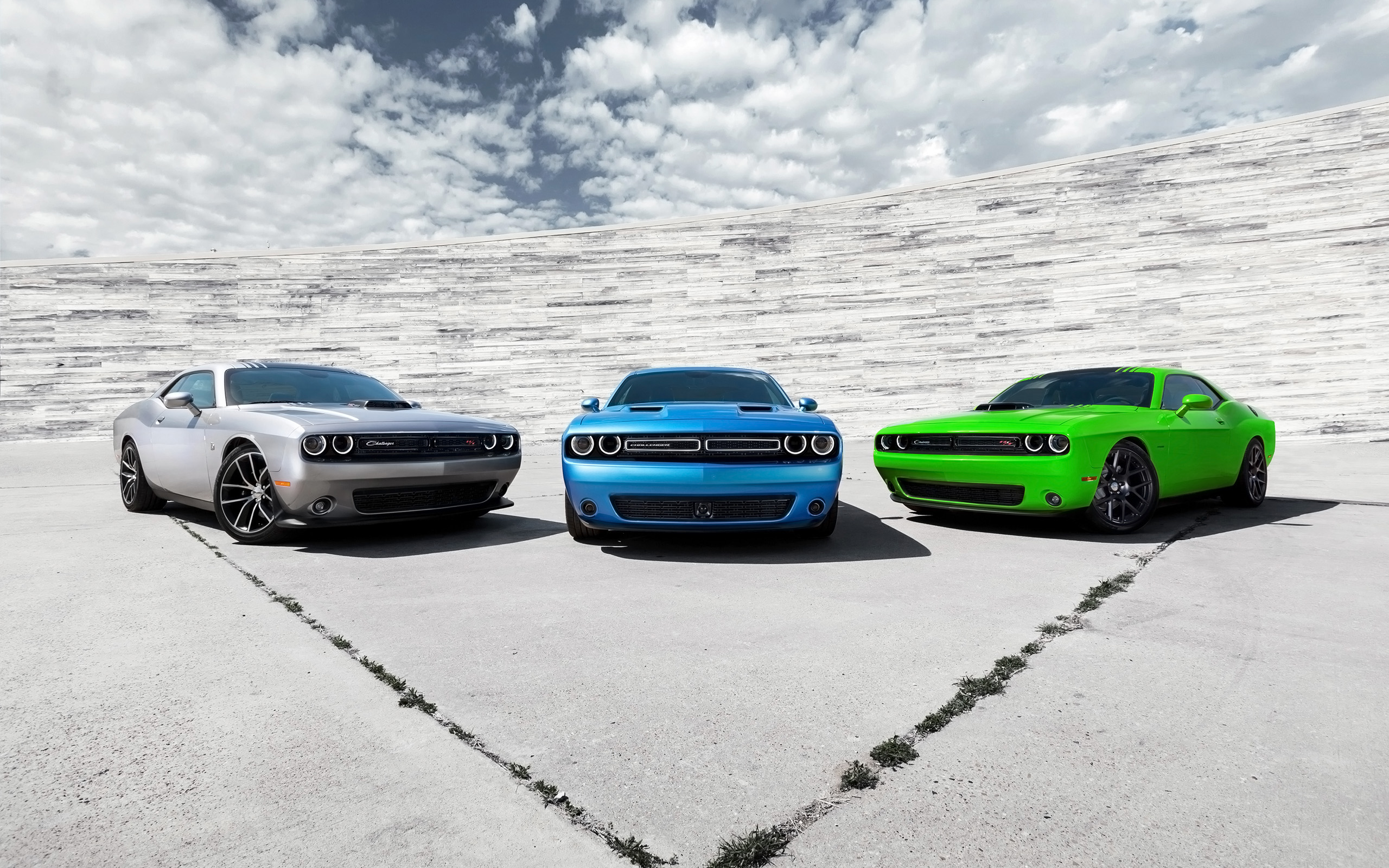 2015 Dodge Challenger Trio Wallpaper HD Car Wallpapers 2560x1600
