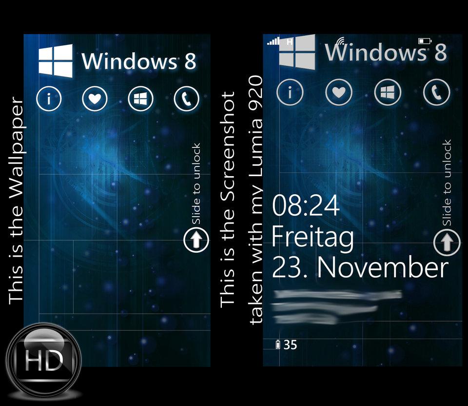 Windows Phone 8 Wallpaper HD by MSP1906 960x832