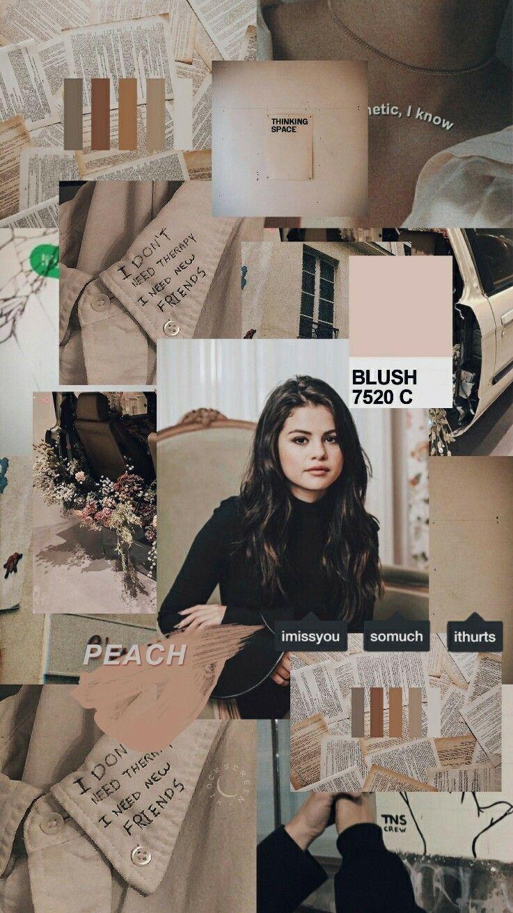 inspiration board in 2020 Selena gomez wallpaper Aesthetic 737x1311